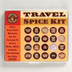 Travel Spice Kit by worldmarket #Travel_Spices