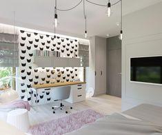 Pokoje dziecięce i młodzieżowe - Living Box Girls Bedroom, Bedroom Decor, Home Trends, Dream Rooms, Luxurious Bedrooms, Room Inspiration, Kids Room, Sweet Home, House Design