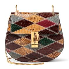 Chloe patchwork handbag