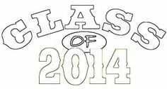 Outline words pattern class of 2014