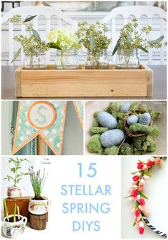 My kids were over all weekend and we loved enjoying the warm weather together! If you're ready for the seasons to change, here are 15 Stellar Spring Ideas! Welcome Spring, Creative Ideas, Diy Ideas, Craft Ideas, Homemade Gifts, Happy Easter, Diys, Diy Projects, Diy Crafts