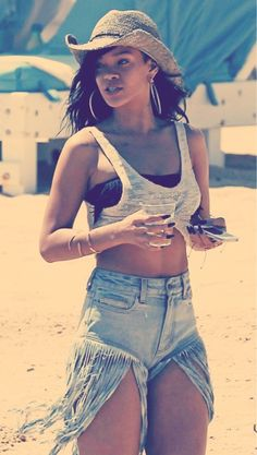 high waisted jean tumblr | Trend to Try: High Waisted Denim Shorts | Clutch Magazine
