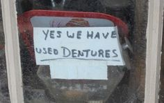 """I don't have false teeth. Do you think I'd buy teeth like these?"" (Carol Burnett)"
