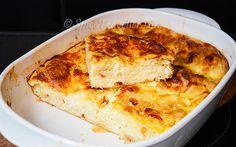 Moist and soft Bulgarian cheese borek