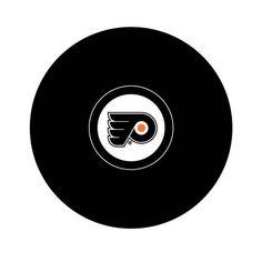 Team Logo Hockey Puck