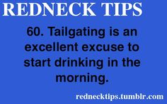 REDNECK TIPS • Posts Tagged 'redneck tip'