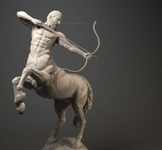 centaur digital sculpting