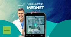 MedNet video animation with content writing | Green Mind Business Video, All Video, Virtual Assistant, Digital Marketing, Mindfulness, Medical, Relationship, Animation, Content