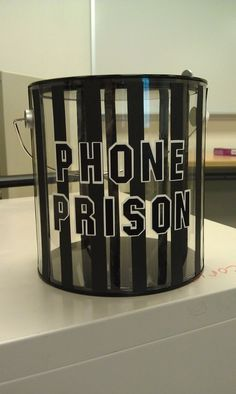 Phone prison - I will have to remember this one, although I hope I don't need this in elementary school Middle School Classroom, Classroom Setting, Future Classroom, Highschool Classroom Decor, Classroom Organization, Classroom Management, Classroom Ideas, Diy Organization, Spanish Classroom Decor