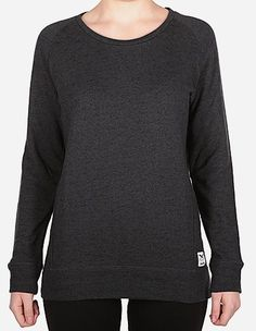 iriedaily - Jazzie Space Sweat black mel