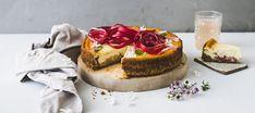 Raparperijuustokakku | Makeat leivonnaiset | Reseptit – K-Ruoka Kfc Original Recipe, Yummy Drinks, Cheesecakes, Sweet Tooth, Chicken Recipes, Dishes, Baking, Fruit, Desserts