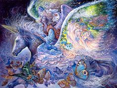 Wings Mural - Josephine Wall| Murals Your Way