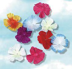 Parti-Color Silk'n Petals