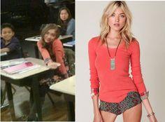 Riley Matthews (Rowan Blanchard) wears a Free People We The Free Lou Flannel CuffThermal in the color Pink in Girl Meets World Season 1.
