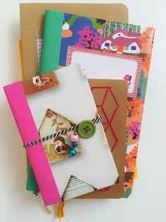 Something for the girl DIY Super Creative Notebooks