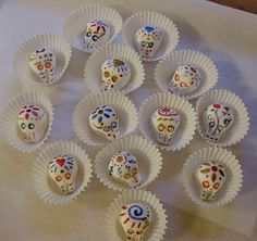 3 Little Skulls  Candy Gift  Party Favor by ArtisanSweets on Etsy, $6.00