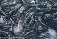 HR Giger Art Poster Print Baphomet Biomechanical Landscape Alien Sil Robot