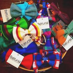 Just in time for the holidays! We have @korbataguatemala bow ties. Handmade, Guatemalan, and Yunik.