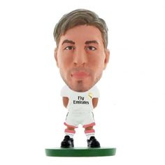 Real Madrid F C - Sergio Ramos - soccerstarz figure - 2 inches tall - season 2015 - in blister pack - official licensed Ramos Real Madrid, European Soccer, World Cup, Legends, Amazon, Shopping, The League, Sergio Ramos
