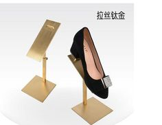 Stainless steel shoe care shoe shoes shoe shop counter display shoes the shoes on display props of metal shoe care - Shop @ ezbuy Singapore