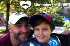 Movember for Aliyah! Help support an amazing family from my church as their daughter battles Leukemia!