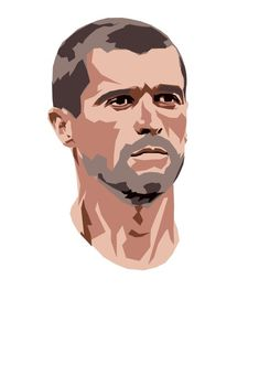 Roy Keane Comforters by The World Cup Draw - Queen: x World Cup Draw, Roy Keane, Sir Alex Ferguson, Premier League Champions, Instagram Frame, Arsenal Fc, Football Players, Graphic Design Art, Manchester United