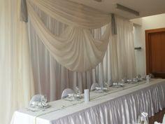 #wedding #esküvő #hochzeit #weddingbackground #esküvőiháttérdekoráció Background Decoration, Wedding Background, Curtains, Home Decor, Wedding, Blinds, Decoration Home, Room Decor, Draping
