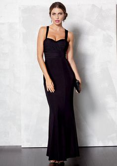 95d70ecf38e Andrea Bow Back Maxi Dress - Tall Dresses - Alloy Tall - Alloy Apparel