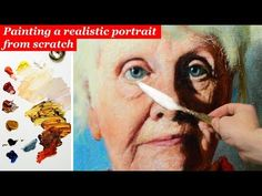 All you should know about painting portraits in oils - skin tones, tonal values & construction. - YouTube