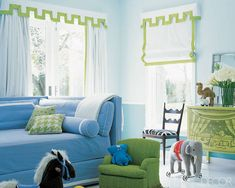Decorating Tips: Curtains and Shades for Any Room - ELLE DECOR
