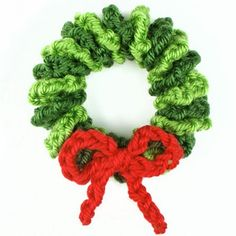How To Make Mini Wreath Ornament