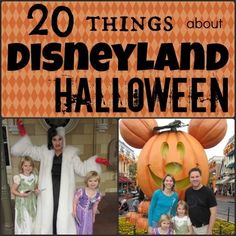 20 Things about Disneyland Halloween Time vacations with Mickey's Halloween Party tips StuffedSuitcase.com