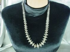 Circa 1960's Old/Dead Pawn Navajo Necklace of by SpiderHillJewelry