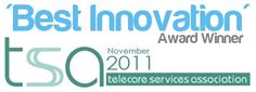 Telecare Services Association Best Innovation Award