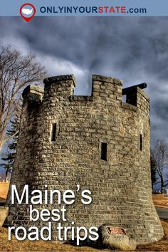 Travel | Maine | Attractions | New England | USA | Road Trips | Things To Do | Day Trips | Places To Visit | Waterfalls | Nature | Natural Wonders | Hidden Gems | Scenic Byway | Haunted Places | Haunted Maine | Haunted Road Trip | Maine Road Trips | Bold Coast
