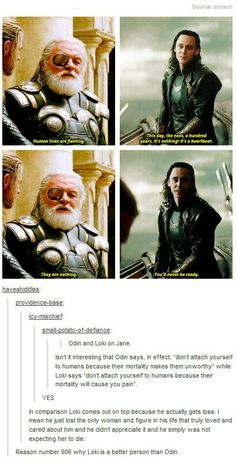 Reason 906 Loki is better than Odin
