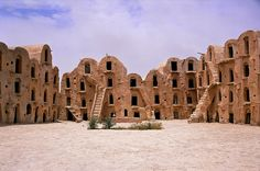 Tataouine, Tunisia. More research on ksar structure.