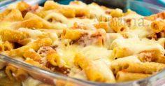Pasta al forno alla pizzaiola