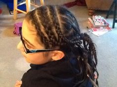 truly just me: cute box braids with cornrows simple