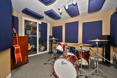 Music Room is Sound Proofed