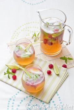 Virgin Mojito au Thé vert & aux Fruits / Green Tea & Fruits Virgin Mojito