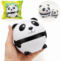 Squishy Panda Father And Son Slow Rising With Packaging Collection Gift Decor Soft Toy