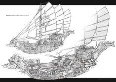 Feng Zhu Design: Cut Away Drawings