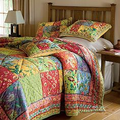 Bella quilt from The Company Store