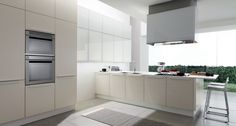 A solution timeless design rational  An innovative kitchen style, simple restaurant, enhanced by lightweight volumes and the severity of the forms. A solution timeless design rational. Original and very nice, where to move, cook and store becomes really simple.