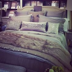 29 best purple and grey bedroom images bedroom decor bed room rh pinterest com Sparkly Blue Sparkly Blue