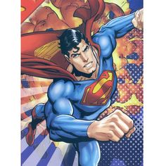 The Superman Universal Hero Mink Blanket measures 60x80 in. & comes in a reusable plastic carrying case. It is big enough to cover yourself on your sofa or drape over a twin or full size bed.It has the look of an actual comic book cover, featuring the Comic superhero flying over the city of Metropolis. It is officially licensed. These blankets are extra warm & plush and have superior durability. Easy Care, machine wash and dry. Buy online www.TheBlanketCompany.com or Call at (801) 280-6200.