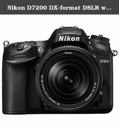Nikon D7200 DX-format DSLR w/ 18-140mm VR Lens (Black). Introducing the Nikon D7200 Digital SLR Camera with AF-S DX NIKKOR 18-140mm f/3.5-5.6G ED VR Lens , the star of Nikons DX-format line-up. Bring your creative vision to life with photos and videos that shine with sharpness and clarity. Shoot in nearly any light—from dawn until after dusk—and capture everything from sports and action to wildlife and everyday moments. Then share your beautiful images easier than ever with a compatible...