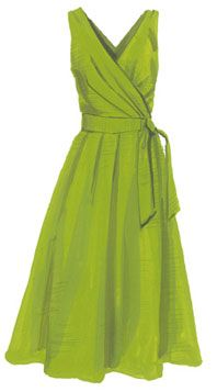 Timeless!  J. Peterman - Stendhal Dress in Lime - I wouldn't pay $189 for it, but it could easily be made at home.