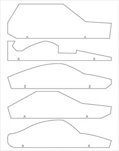 Free Pinewood Derby Car Templates 618176 Png 1275 X 1650